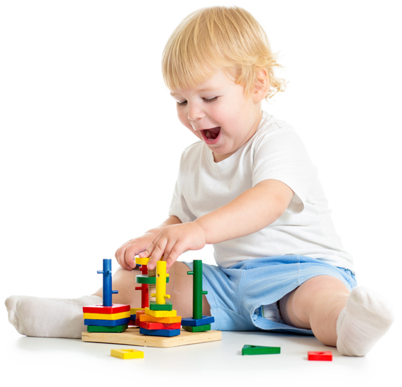 Toys to learn through play